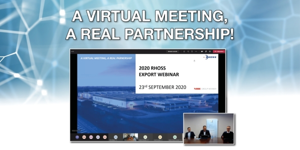 2020 RHOSS EXPORT WEBINAR