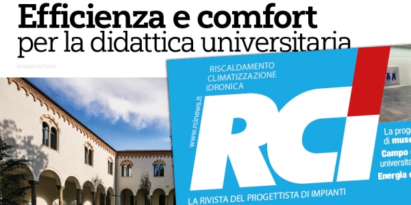 EFFICIENCY, SUSTAINABILITY AND COMFORT IN THE NEW UNIVERSITY CAMPUS OF PADOVA.