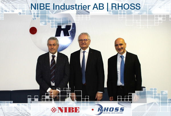 RHOSS becomes part of the NIBE Group