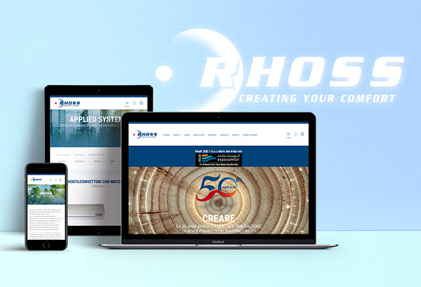 New Rhoss website. Ever more smart