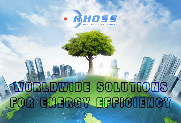 Worldwide solutions for energy efficiency