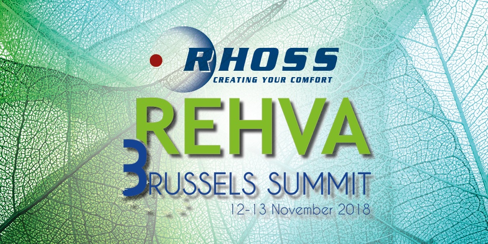 RHOSS AT REHVA BRUSSELS SUMMIT