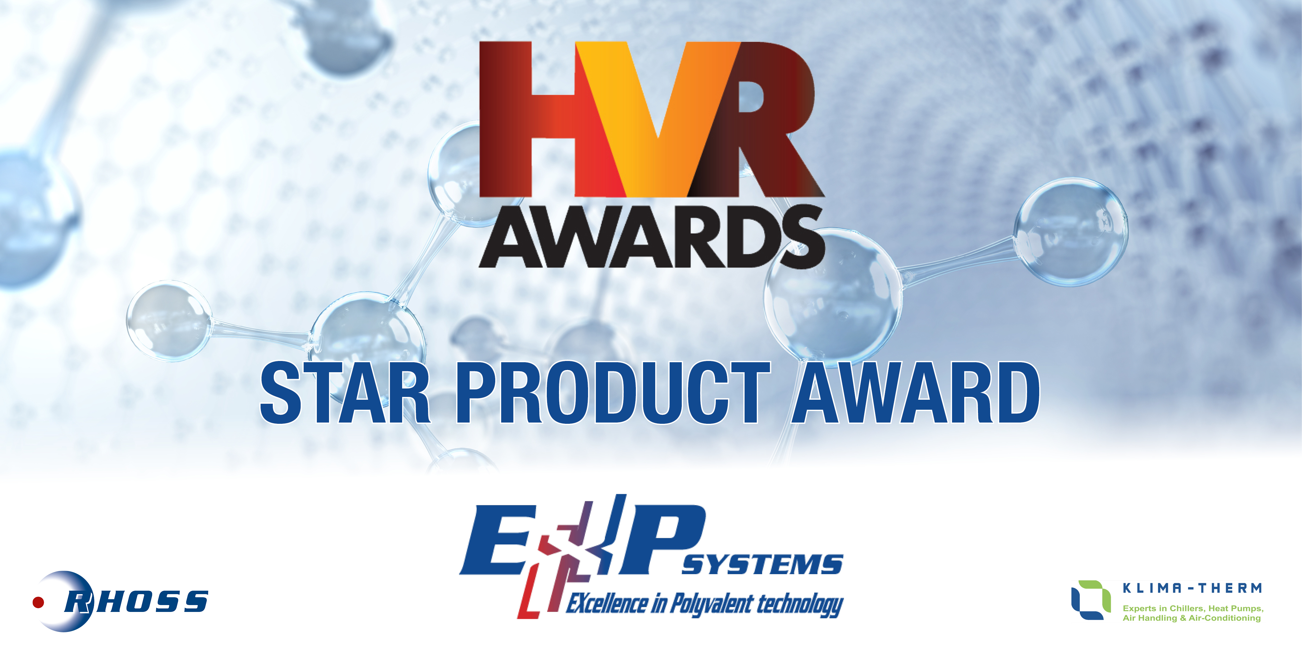 """""""STAR PRODUCT AWARD"""" TO RHOSS EXP"""