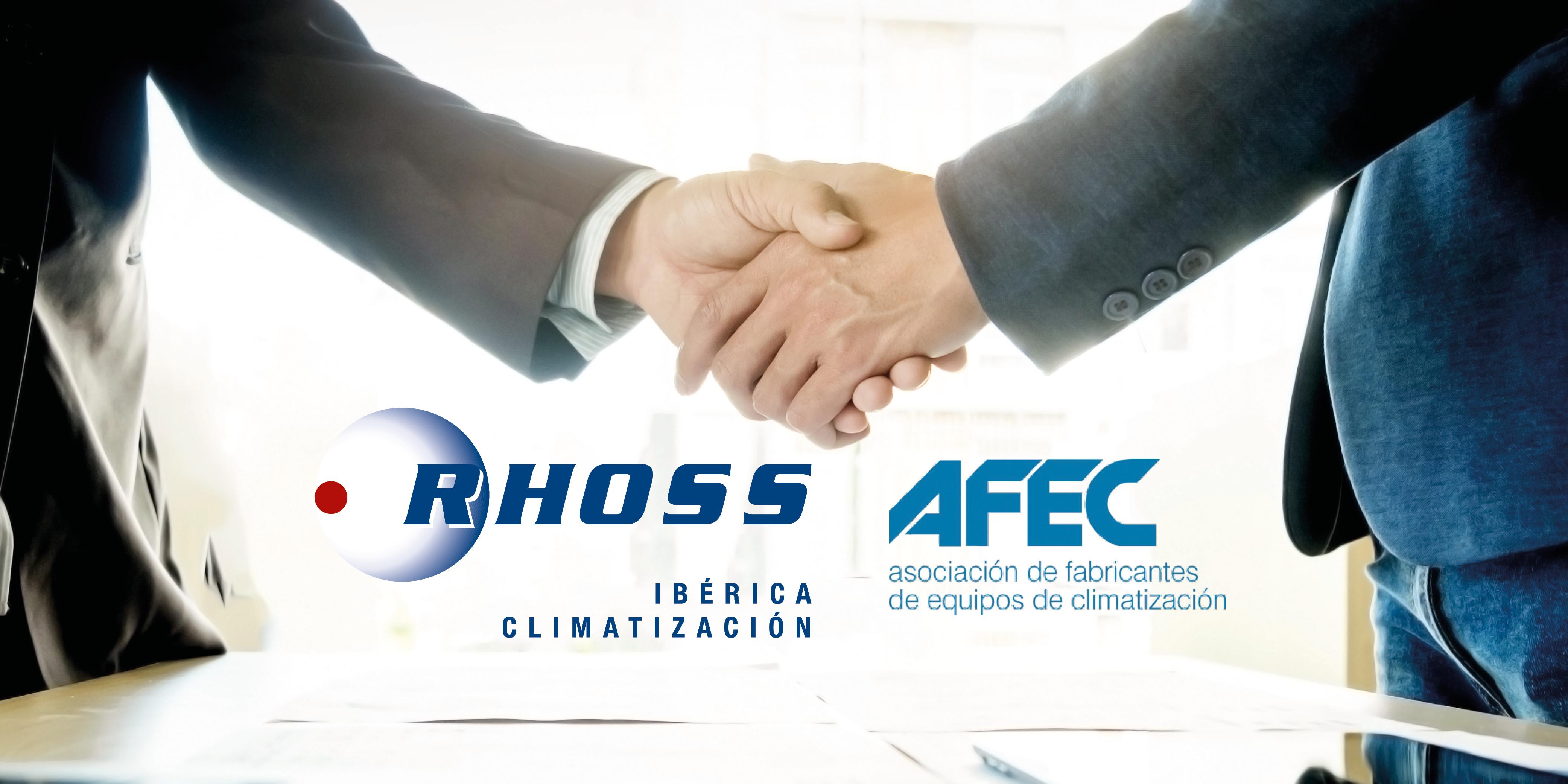 RHOSS IBÉRICA CLIMATIZACION MEMBER OF AFEC