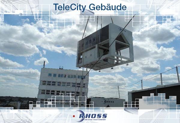 TeleCity Gebäude
